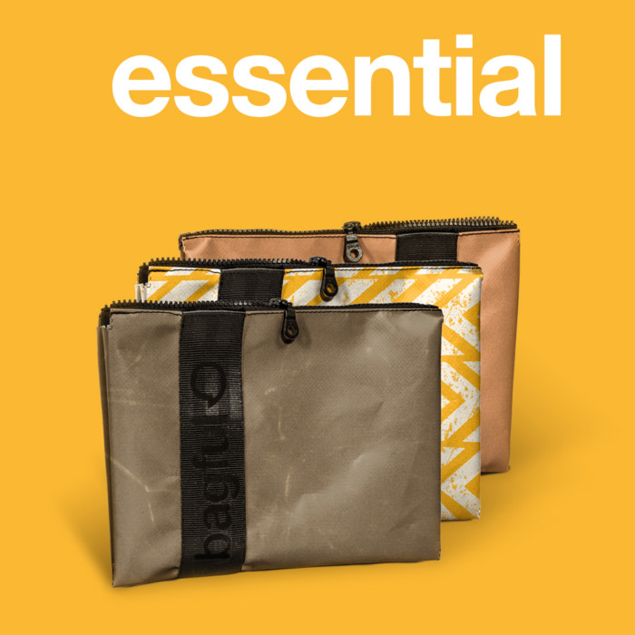 bagful essential Pochette in banner pvc