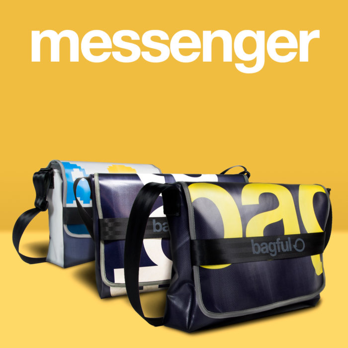 Messenger borsa in pvc